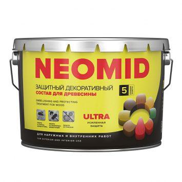 Пропитка для дерева Neomid Bio color ultra
