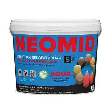 Пропитка для дерева Neomid Bio color aqua