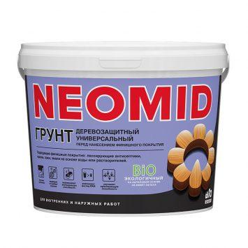Пропитка для дерева Неомид био грунт